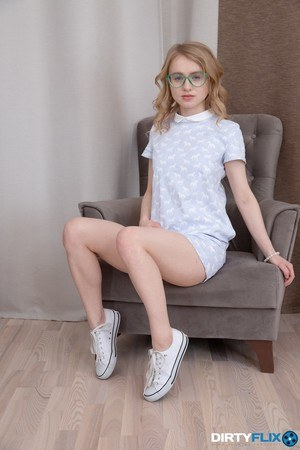 Teens with Glasses Porn